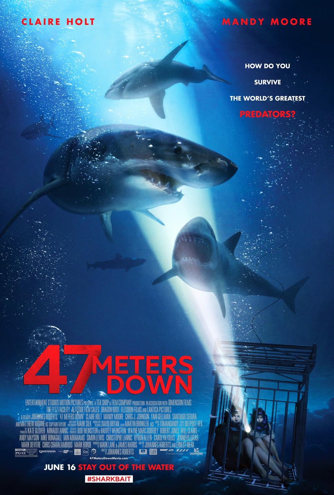 47 Meters Down - Neuer Trailer zum Hai-Horror - Bild 3 von 6