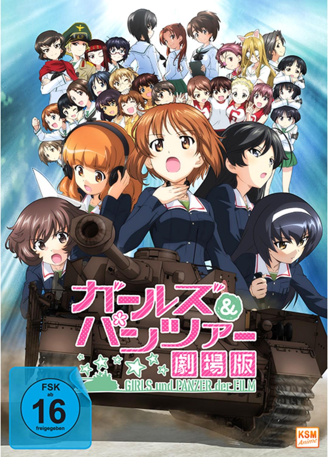 Girls Und Panzer der Film ab März auf Blu-ray und DVD - Bild 1 von 4