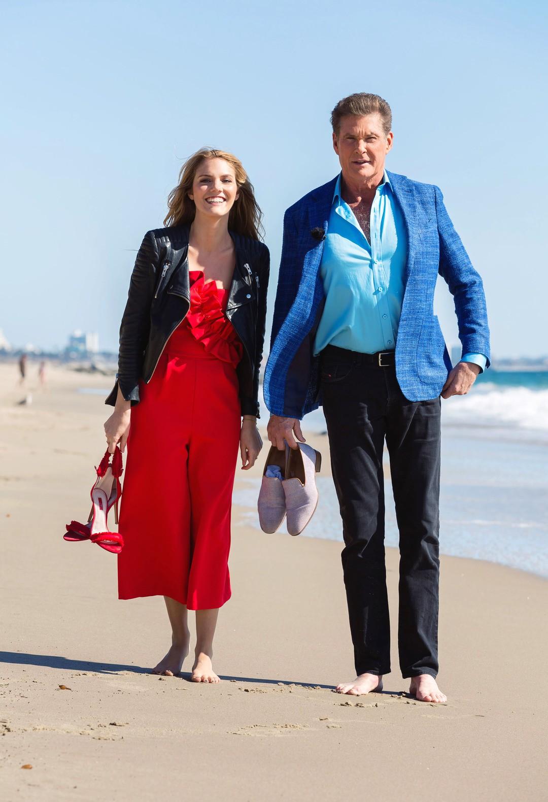 David Hasselhoff: So romantisch wird er heiraten - Bild 1 von 1