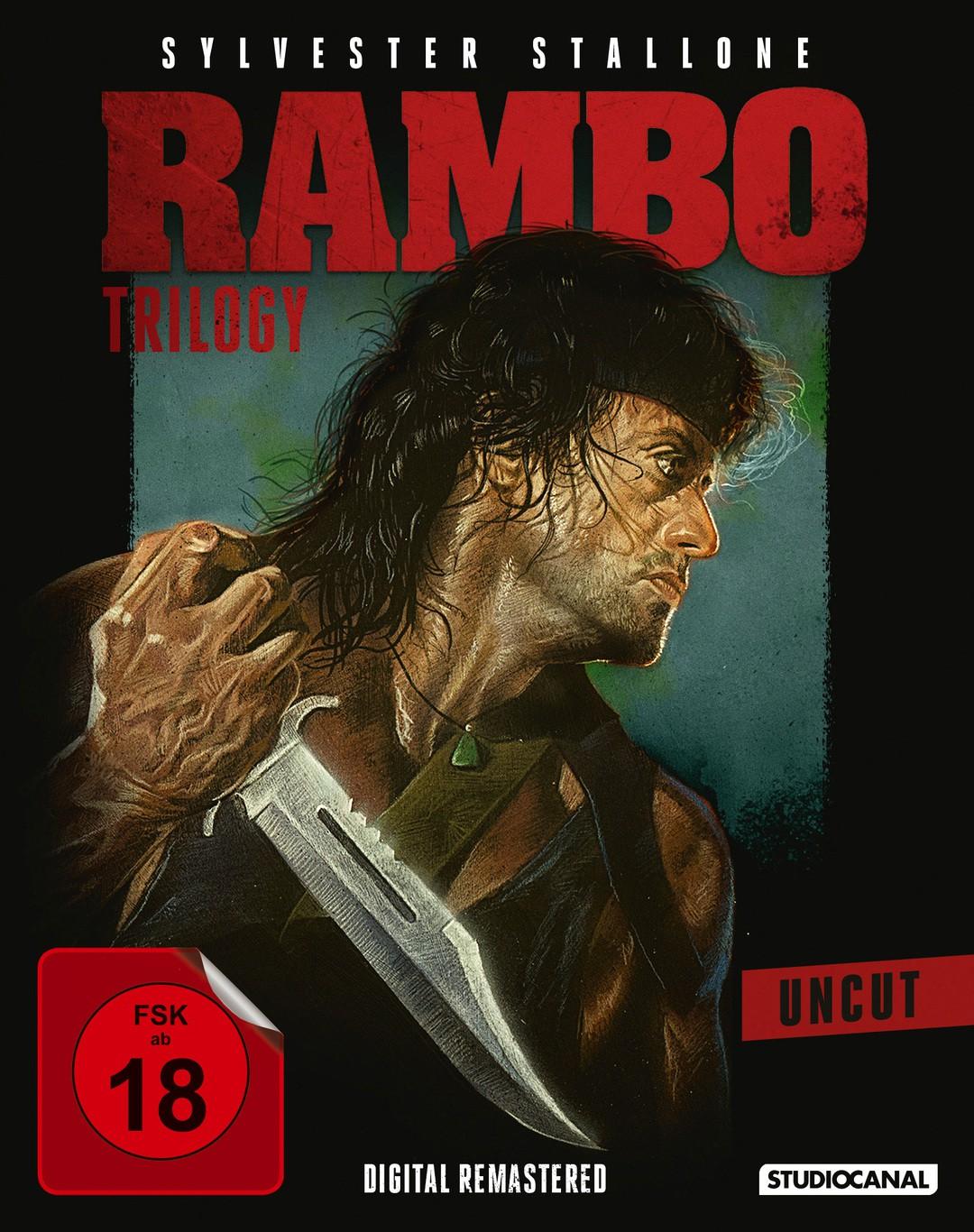 Rambo: Trilogie in 4k - Bild 1 von 4