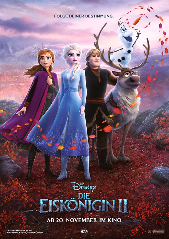 Die Eiskönigin 2: Diese Promis sprechen Figuren im Film - Bild 1 von 17