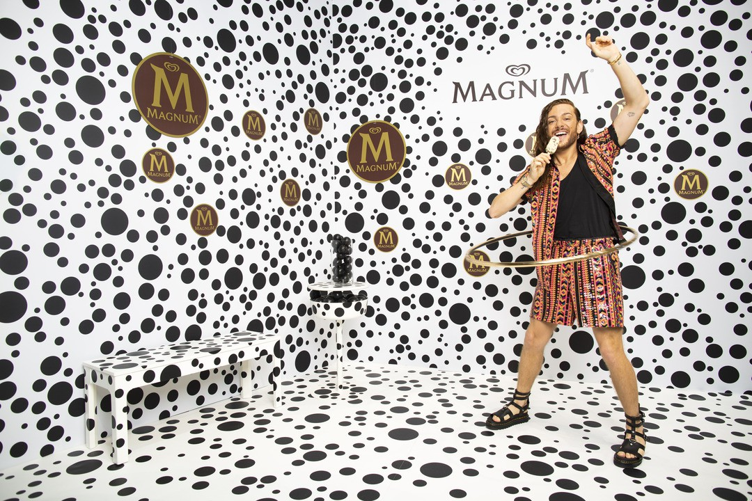 Magnum-Eis wird 30 Jahre alt - und bekommt eine interaktive Erlebniswelt in Berlin - Bild 1 von 13