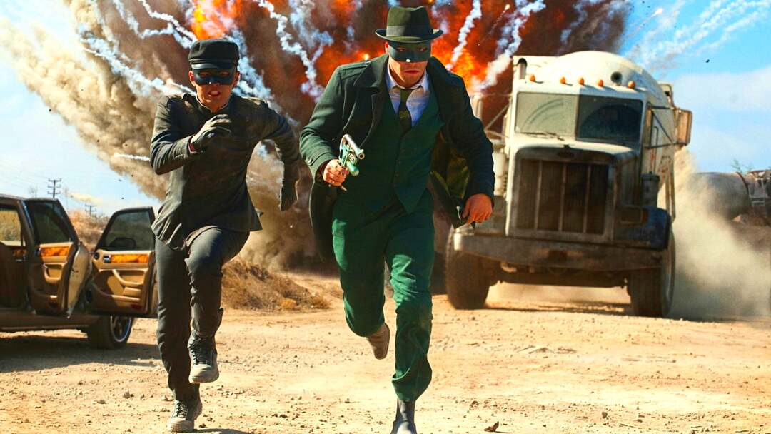 The Green Hornet Trailer - Bild 1 von 12