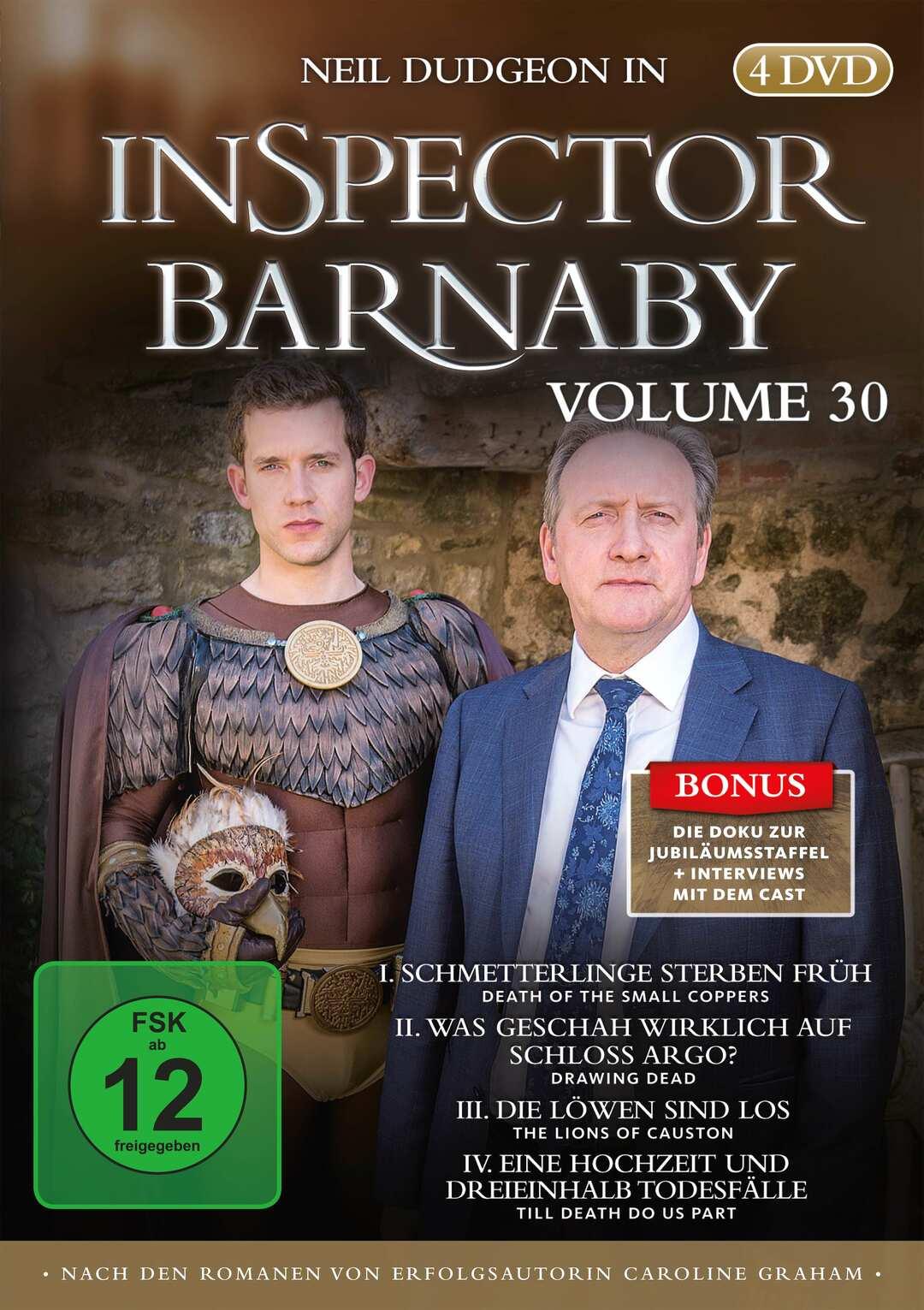 Inspector Barnaby: Vol. 30 mit vier neuen Fällen und Bonus-Doku - Bild 1 von 3