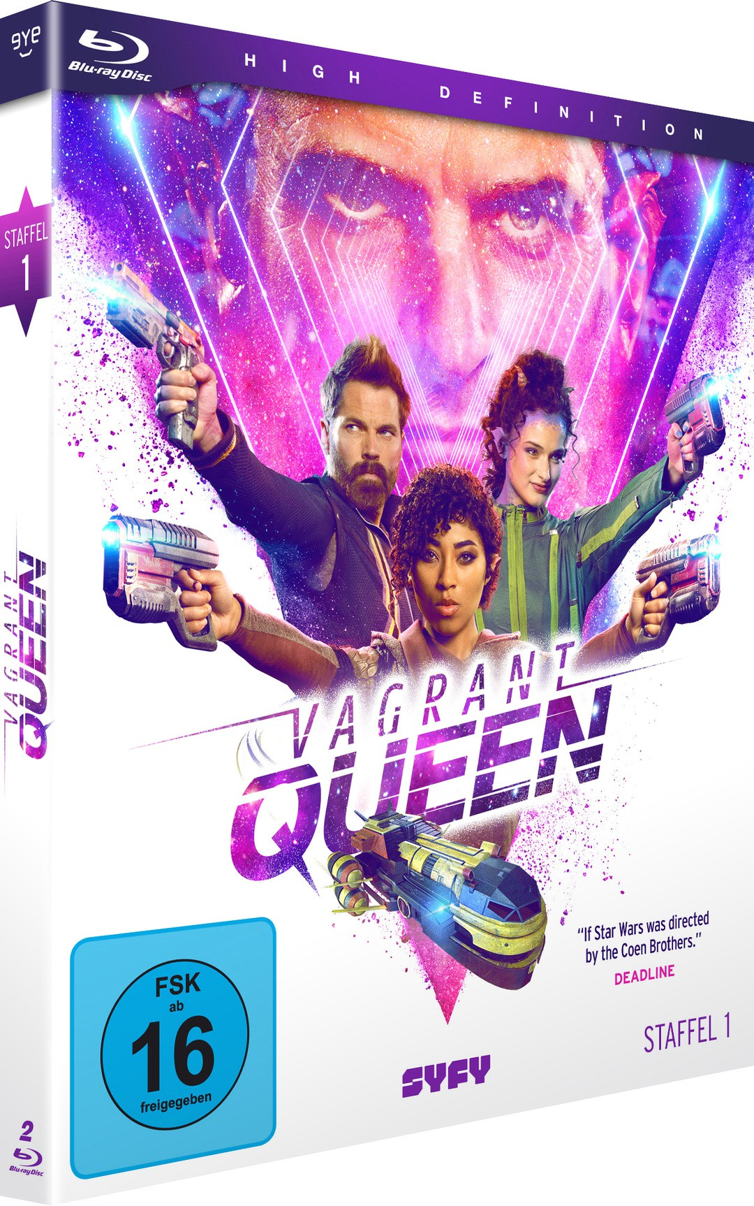 Vagrant Queen: Königin auf Abwegen - Serie startet bei SYFY - Bild 1 von 3